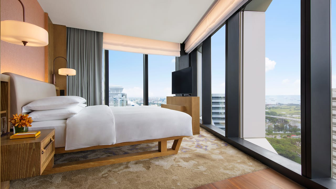 Andaz Suite Bedroom Hotel With A View Singapore