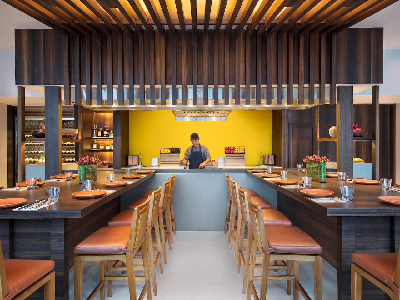 The Teppan Chef's Table Restaurant Andaz Singapore