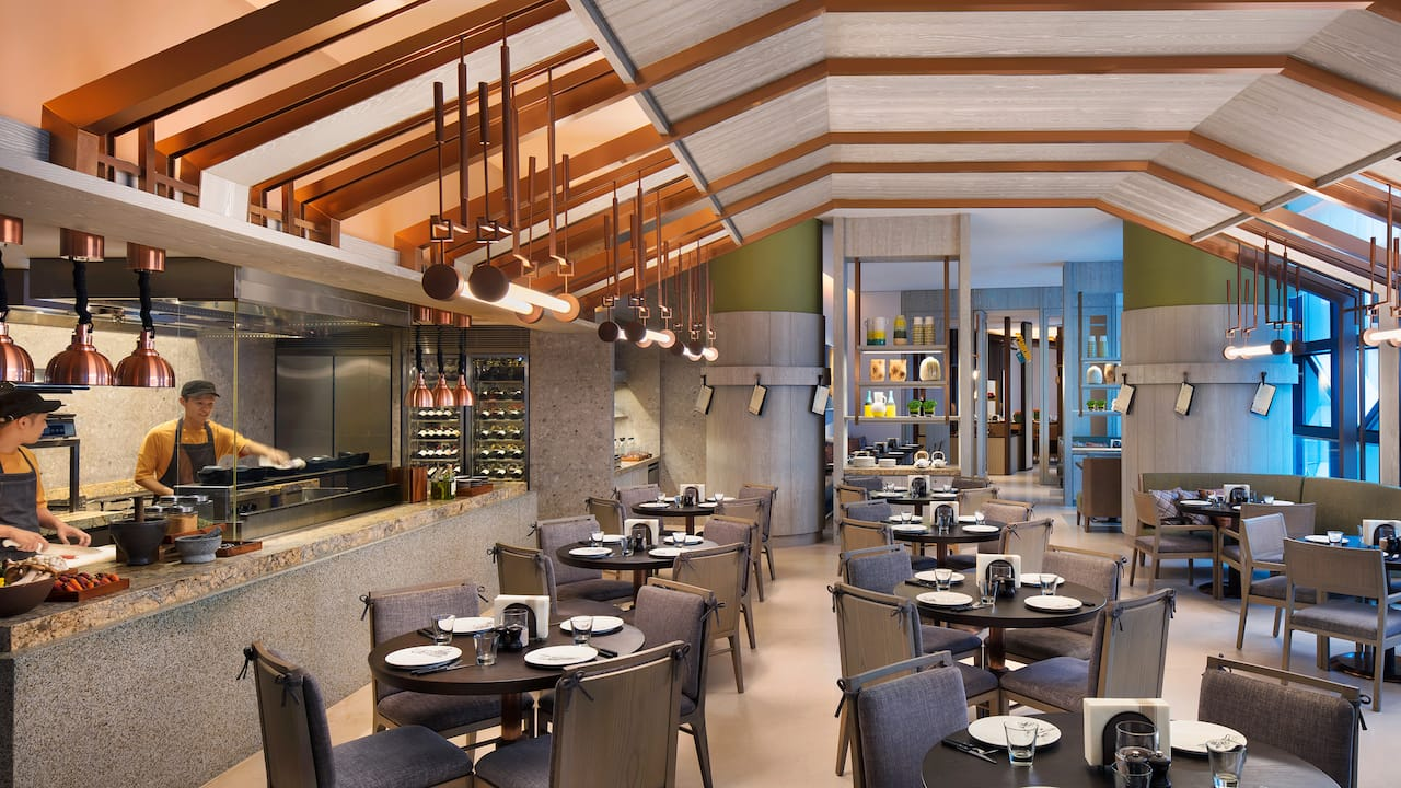 Andaz kitchen & bar, an innovative restaurant concept at Andaz hotel Singapore