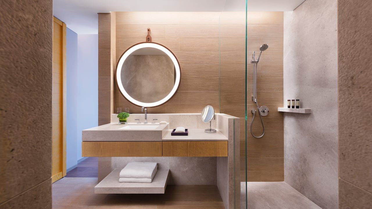 Standard Bathroom Andaz Singapore Hotel