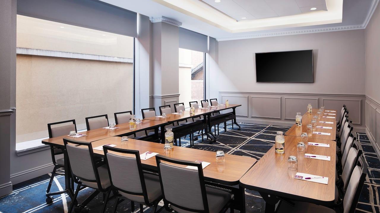 meeting room corner