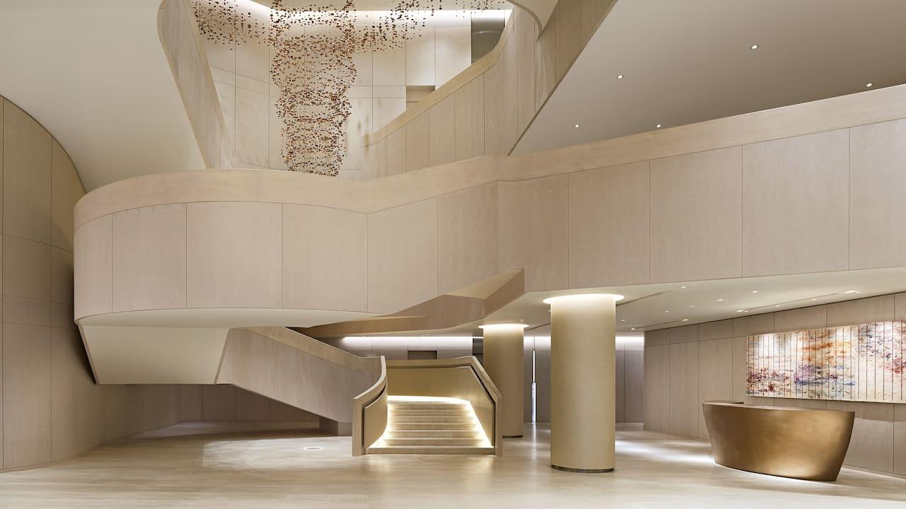 Ballroom Stair Exterior