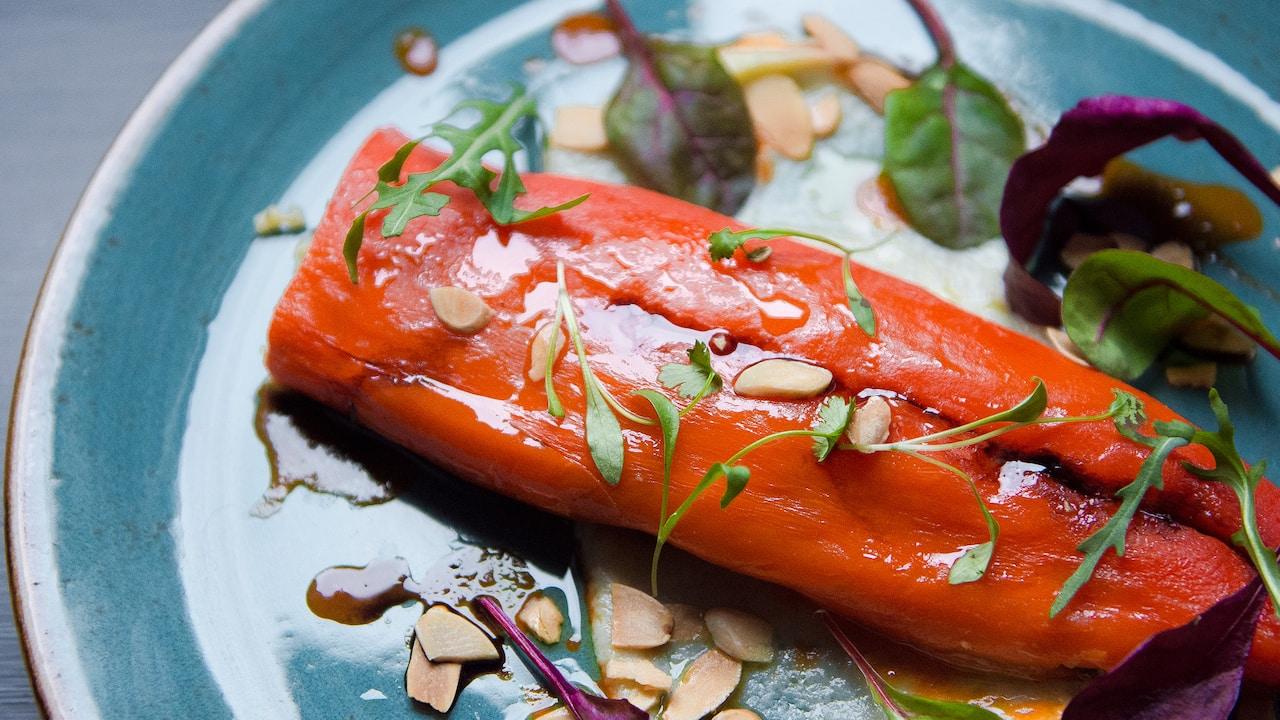 Stuffed peppers | Lady Abercorn's Pub | Andaz London Liverpool Street