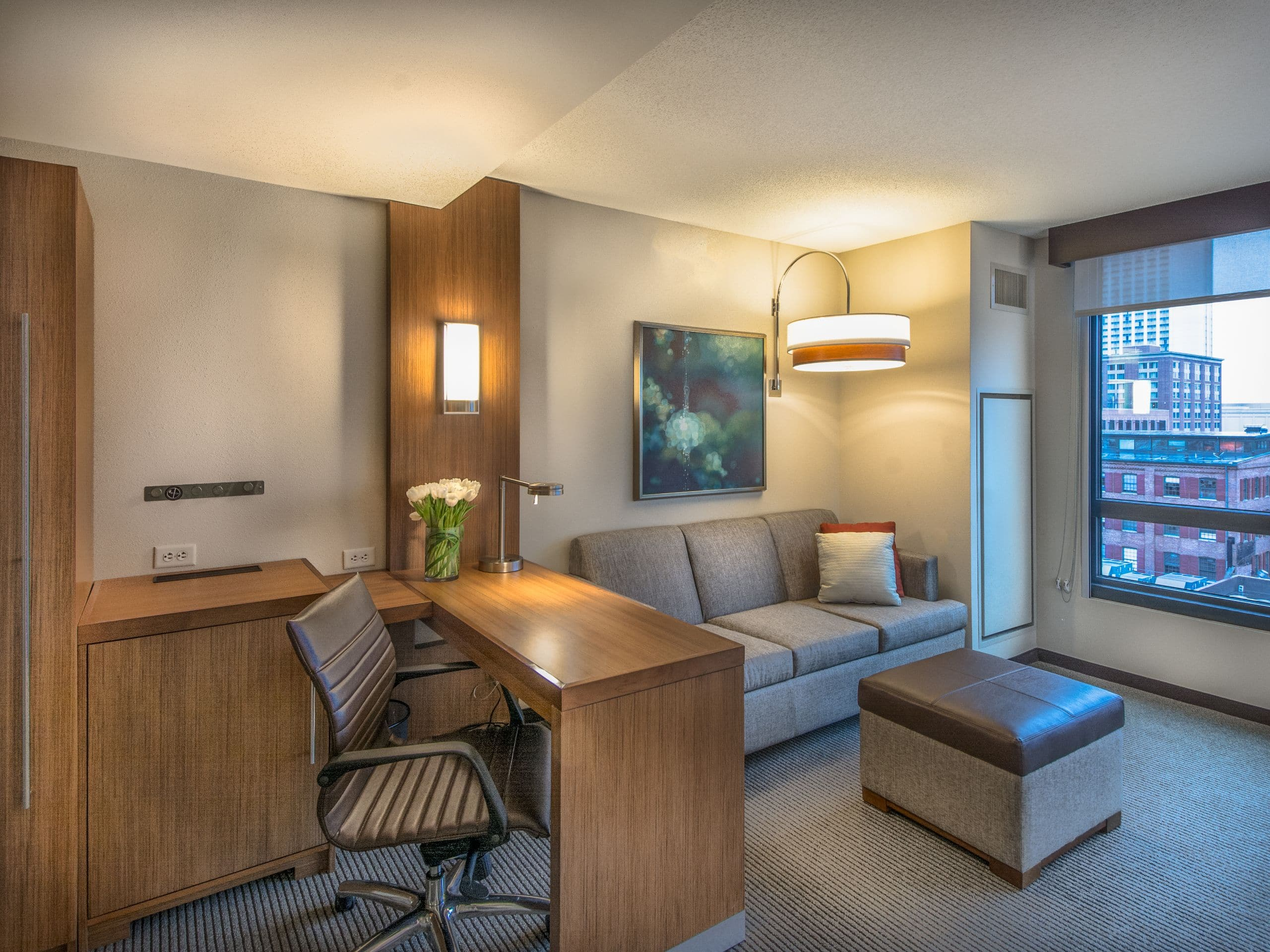 Contemporary Hotel in Baltimore Inner Harbor | Hyatt Place Baltimore on cute home office designs, best home office designs, rustic home office designs,