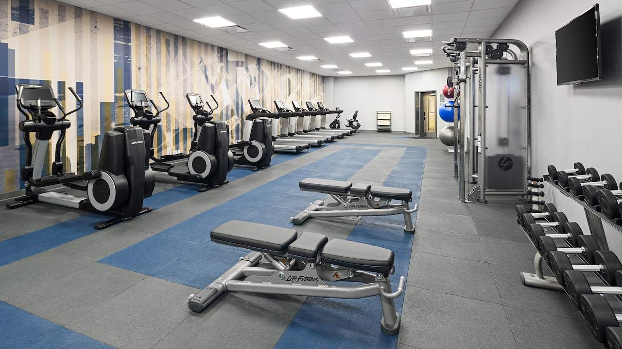 Hyatt House Jersey City Gym & Fitness Center Image