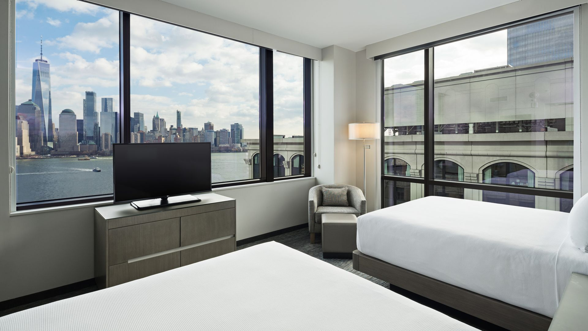 Hyatt House Jersey City Room View