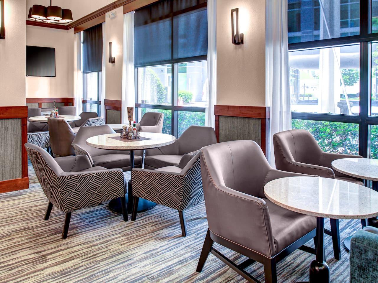 Hotels near Atlanta Lobby Gallery Seating at the Hyatt Place Atlanta/Buckhead