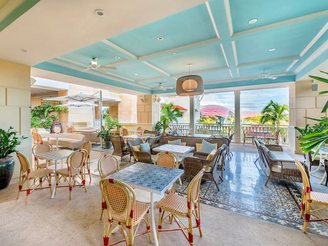 Madeline Outdoor Café at Grand Hyatt Baha Mar