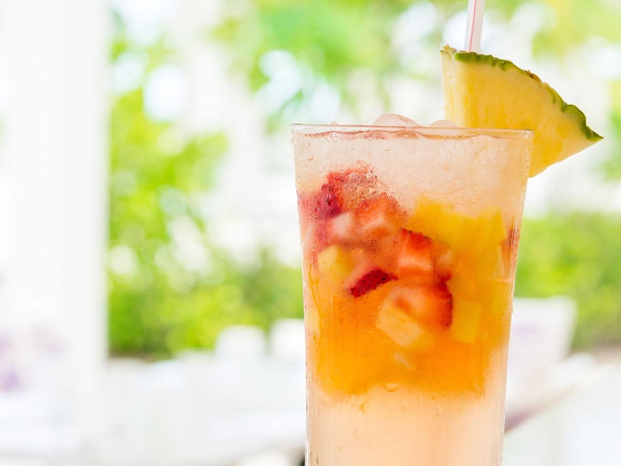 Palms Cafe Strawberry Mango Daiquiri