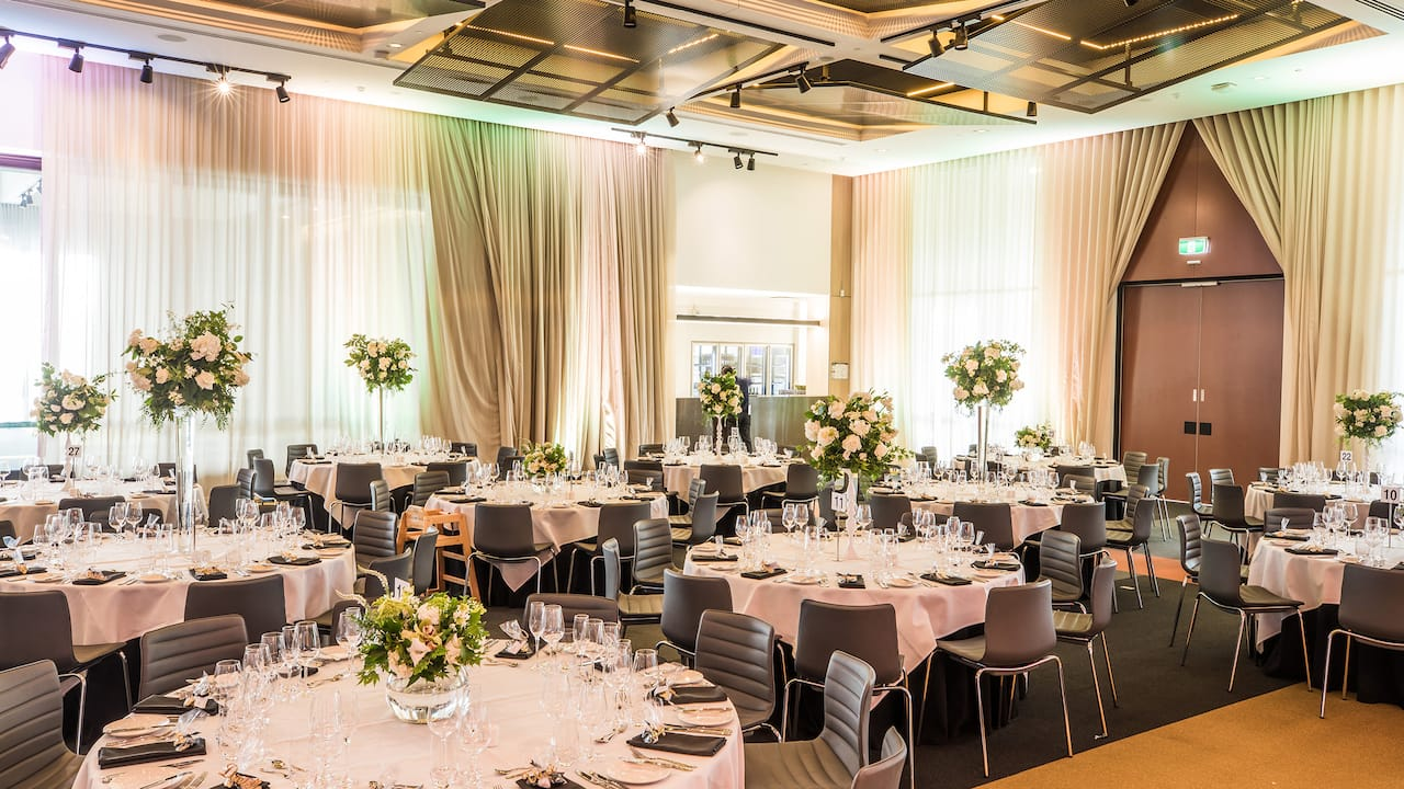 The Australian Events Centre Wedding Setup