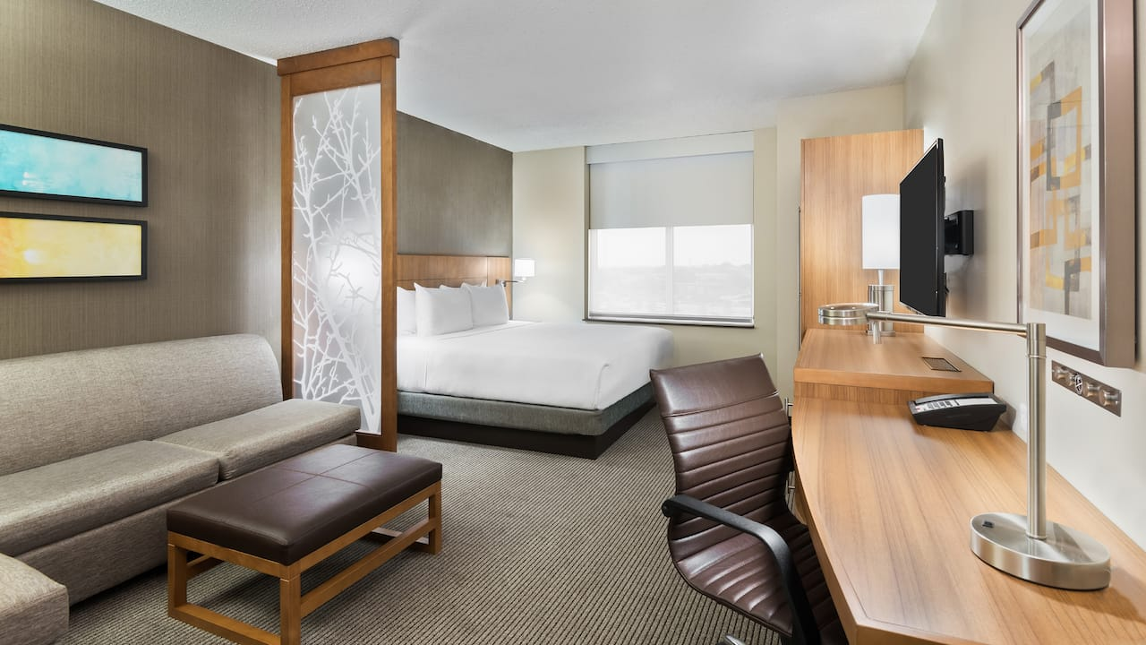 King Sofa Bed Room