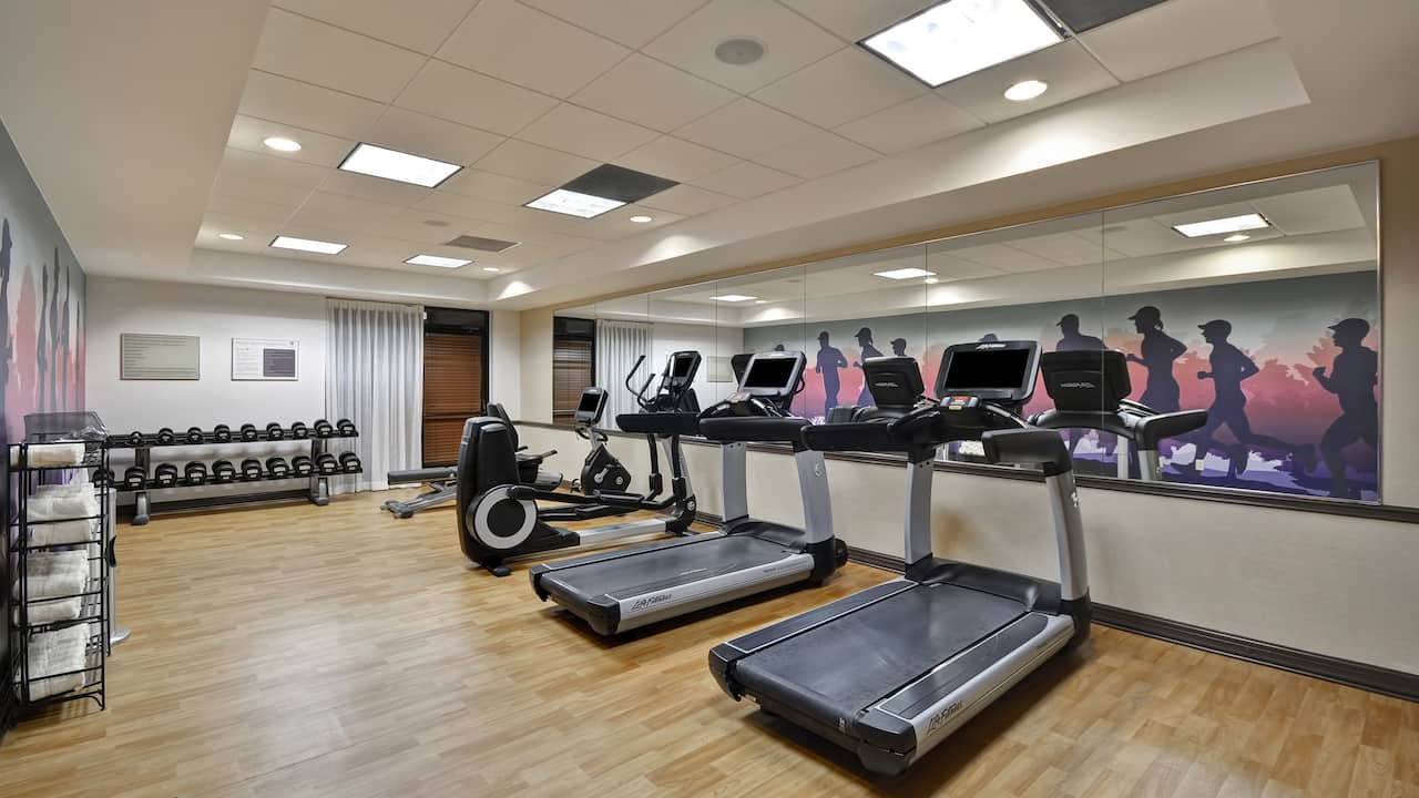 Hotel gym at Hyatt Place Miami Airport West/Doral