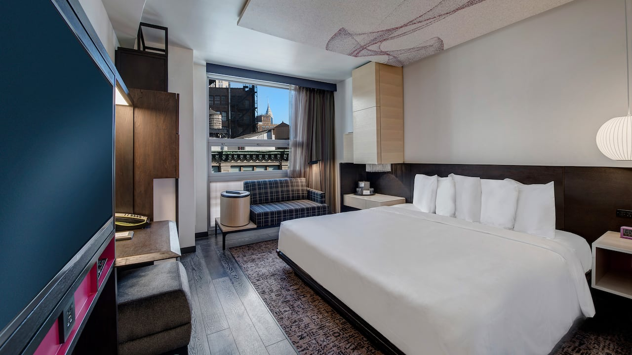 Hyatt Herald Square New York, king guestroom