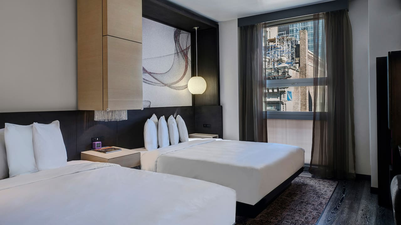 Hyatt Herald Square New York, double guestroom