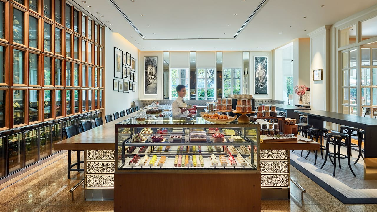 Pastry Boutique Park Hyatt Saigon with Cakes, Sweets and Pastries