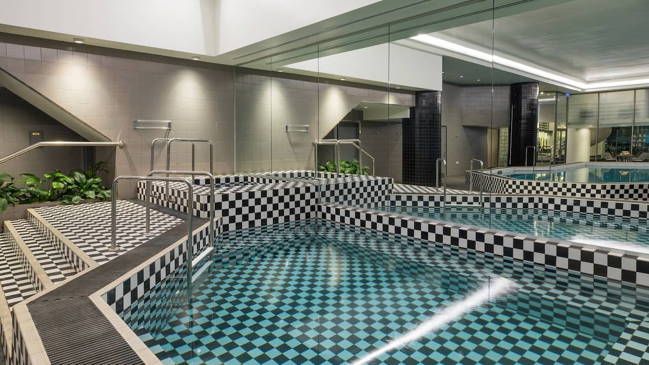 Pool in City Club Health & Fitness Centre