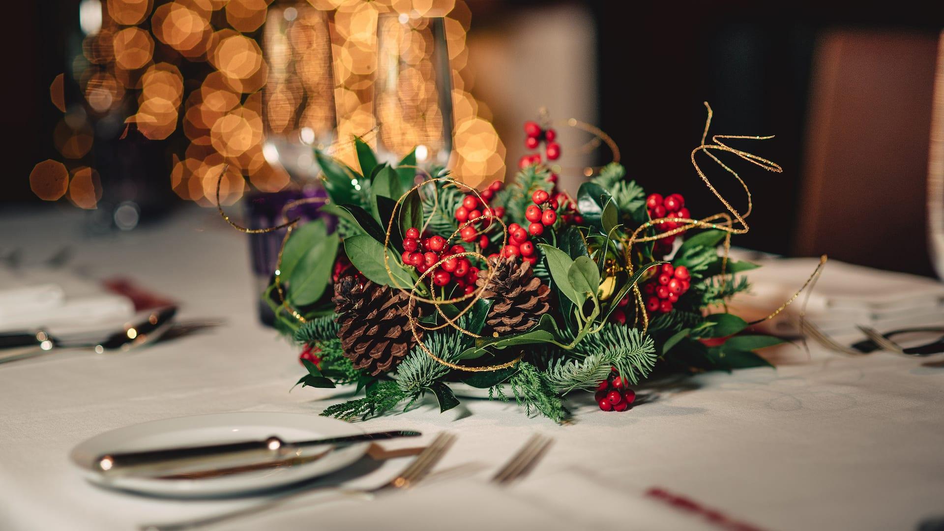Weihnachtsfeiern und festliche Tagungen im Park Hyatt Hamburg