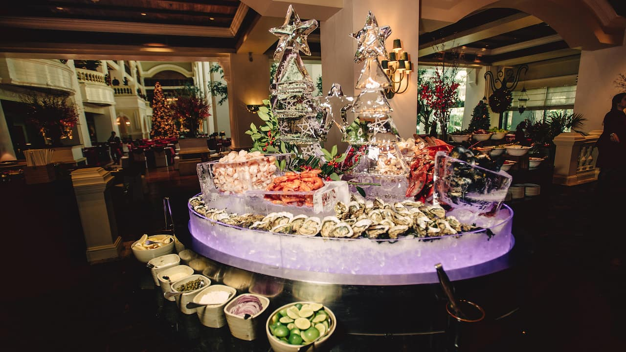 Grand Festive Celebration - The Dining Room