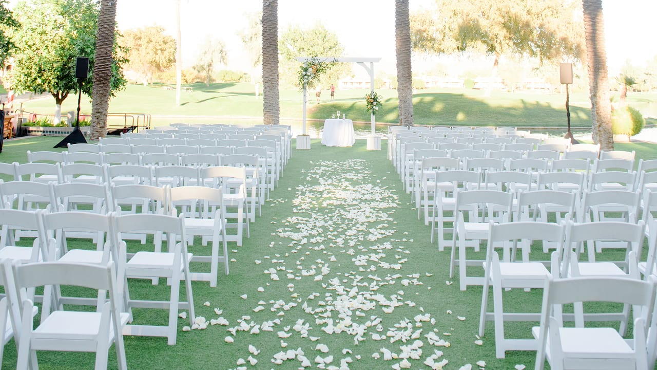 Palm Grove Wedding