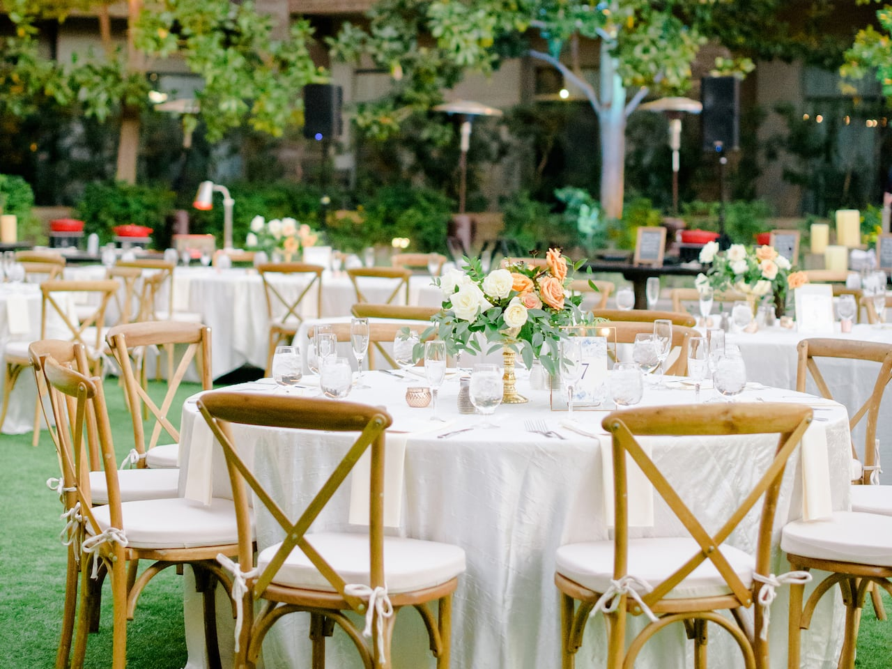 Outdoor wedding venue in Gainey Ranch