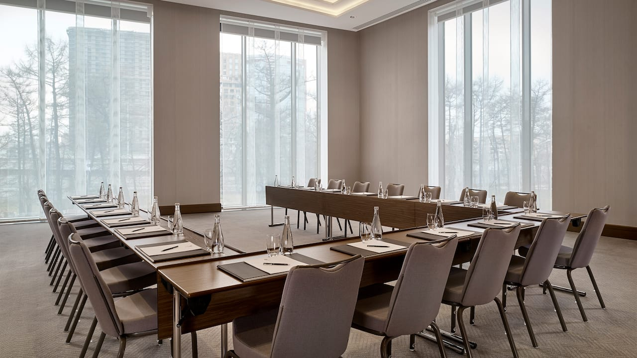 Meetings at Hyatt Regency Moscow Petrovsky Park