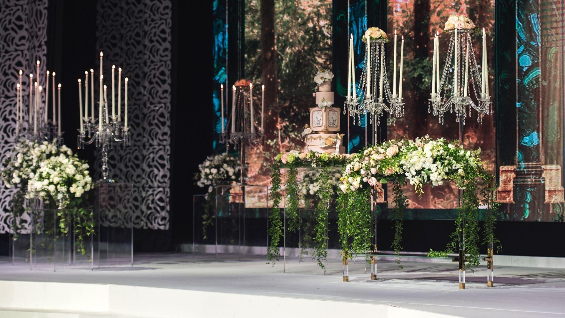Palace - wedding setup