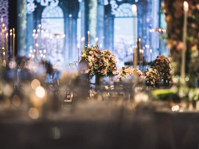 Grand Hyatt Seoul Wedding Table Setting