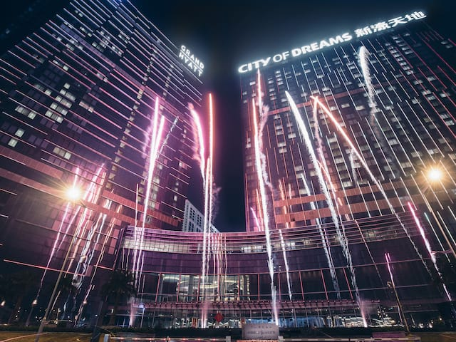Grand Hyatt Macao Grand Fireworks