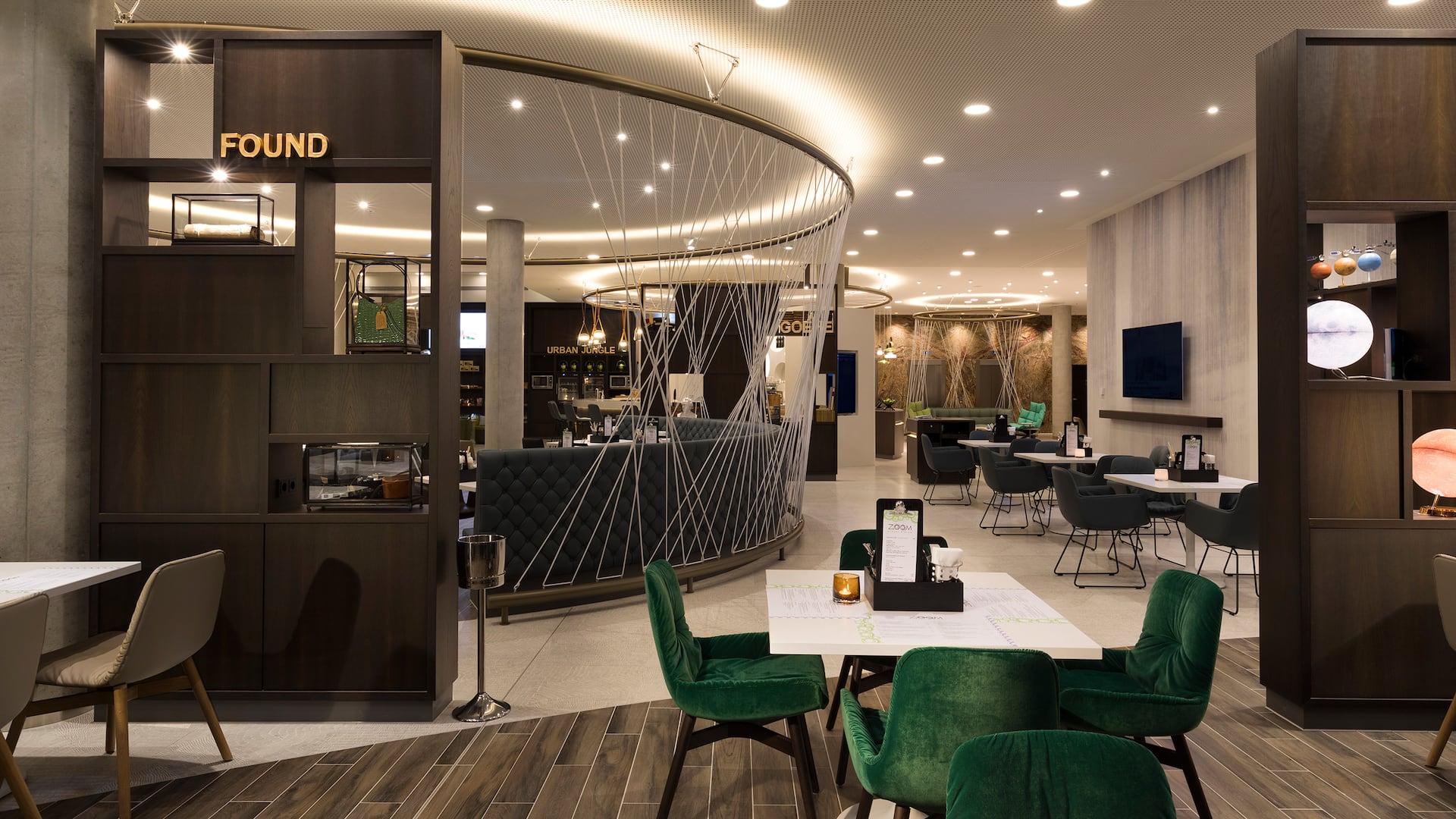 Zoom Restaurant im Hyatt Place Frankfurt Airport