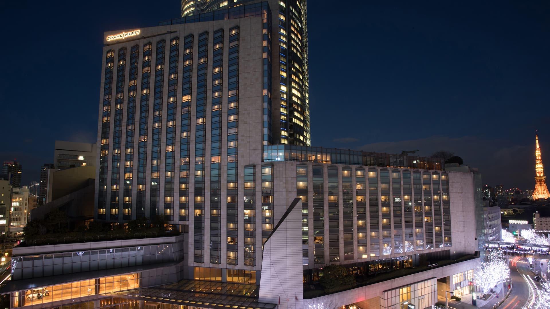 Grand Hyatt Tokyo Exterior