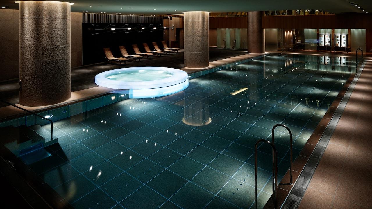Grand Hyatt Tokyo Nagomi Spa And Fitness Pool グランド ハイアット 東京 ナゴミ スパ アンド フィットネス プール