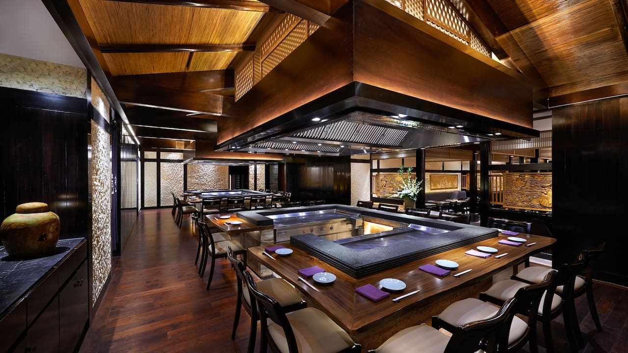 Authentic Japanese Restaurant Jakarta, Sumire Japanese Restaurant The Grand Hyatt