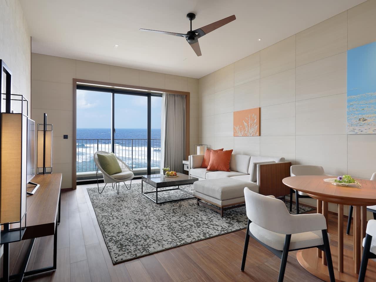 Ocean Corner Suite