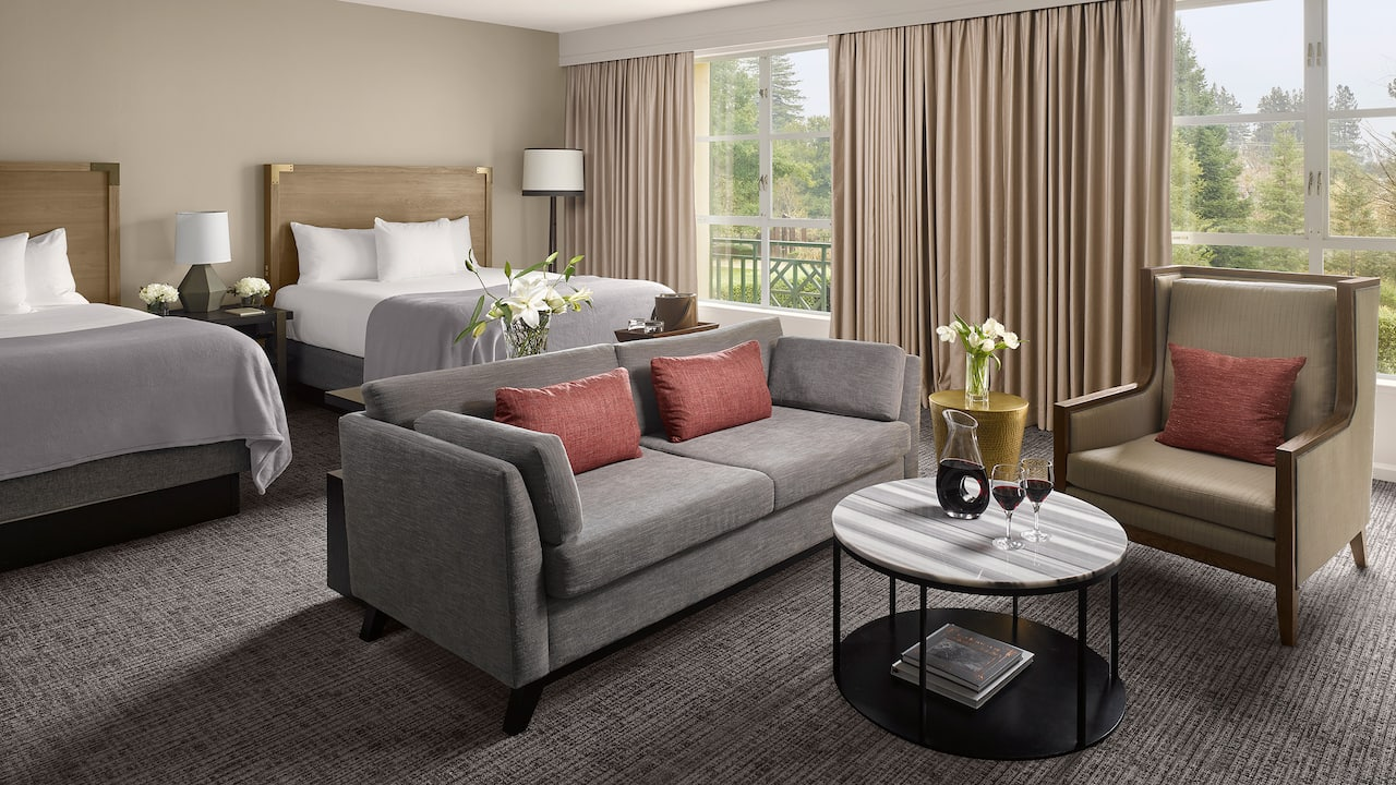 Executive Two Queen Suite at Hyatt Regency Sonoma Wine Country