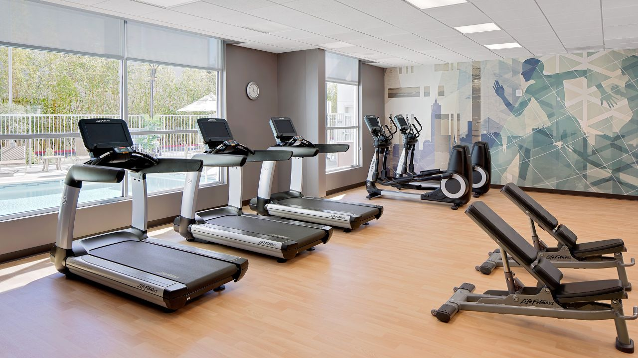 Hyatt House Workout Room
