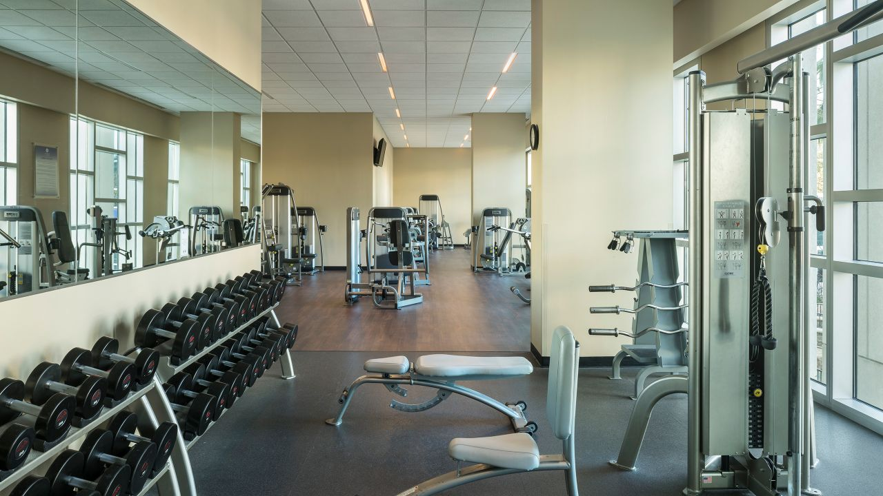 Fitness Center at Hyatt Regency Orlando