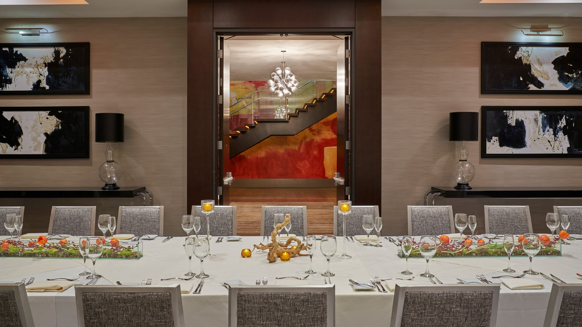 Executive dining experience