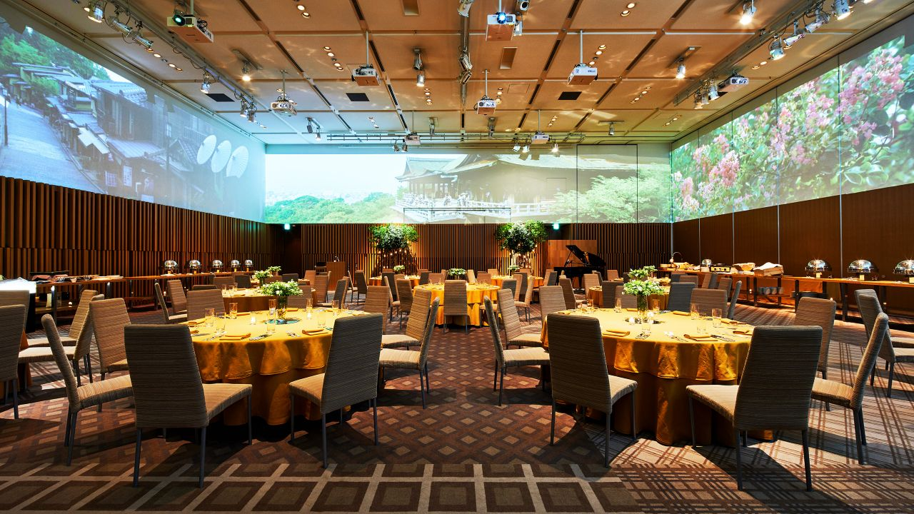 Ballroom Surround Projection System