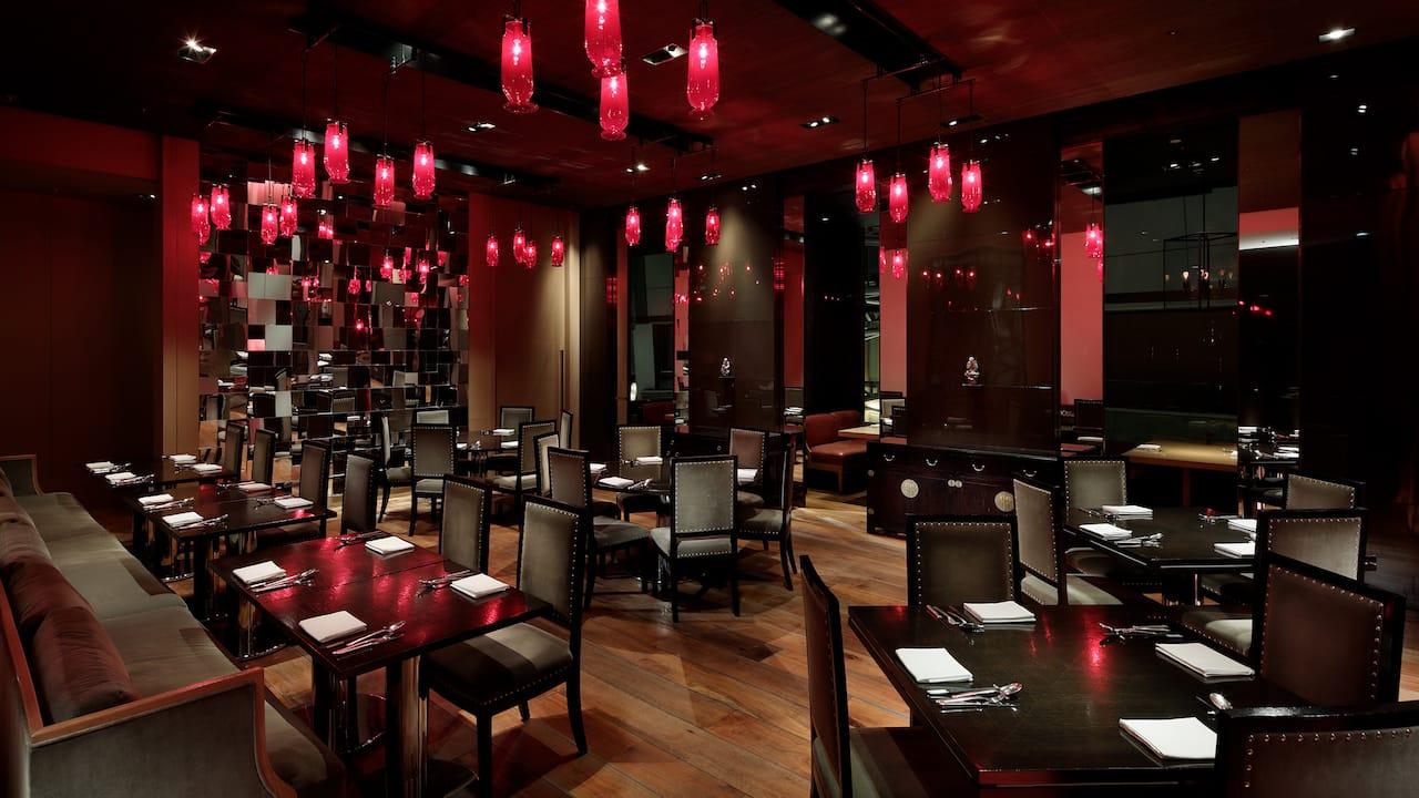 Grand Hyatt Tokyo Chinaroom Dining Room グランド ハイアット 東京 中国料理 チャイナルーム メインダイニングルーム