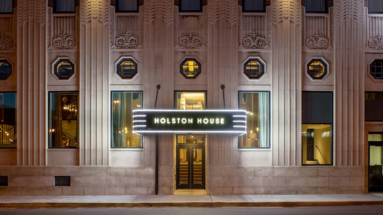 Holston House Nashville Entrance
