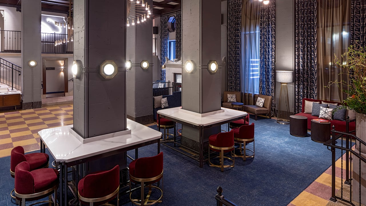 Holston House Nashville Lobby