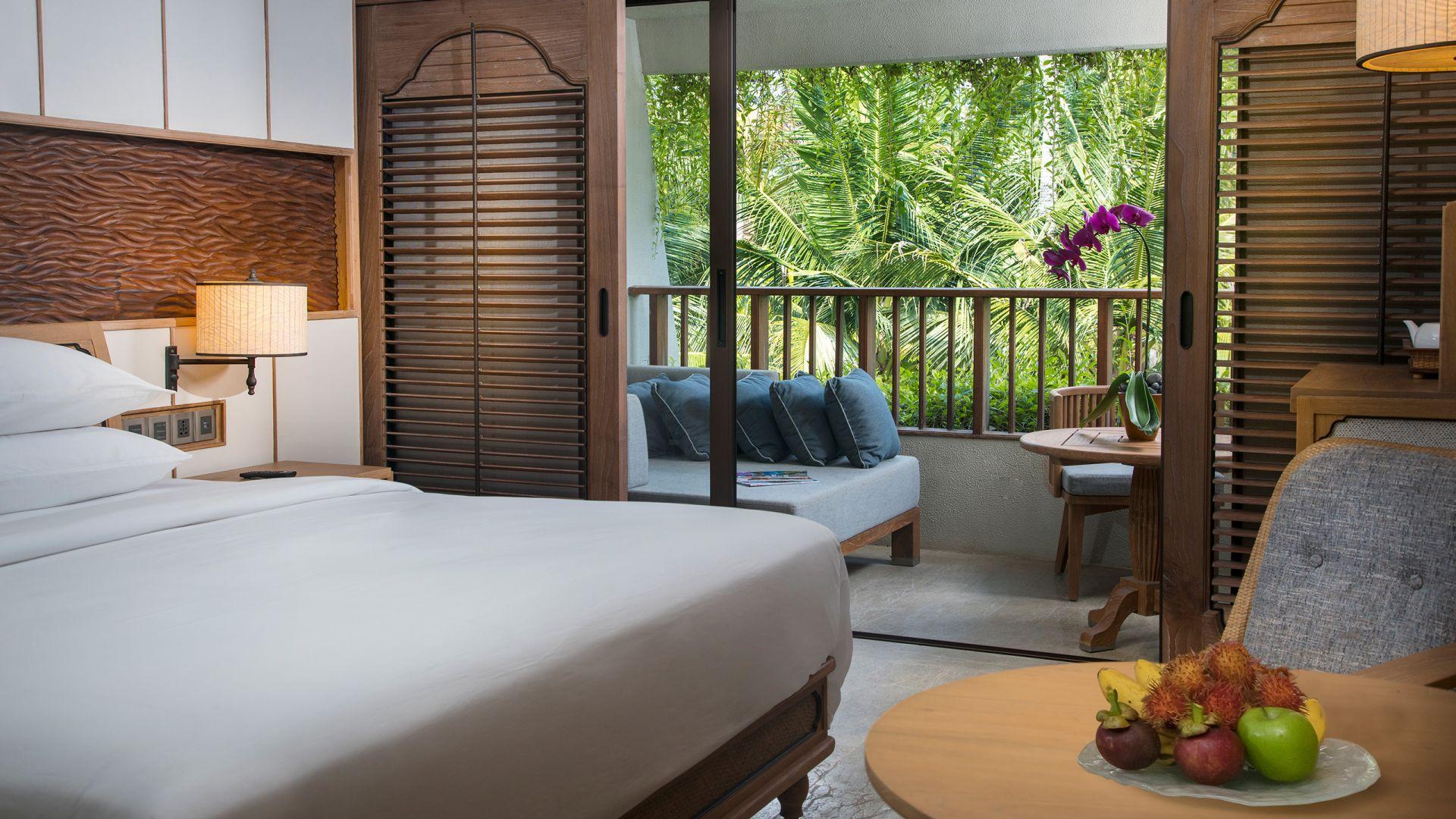 Hyatt Regency Bali ariel shot