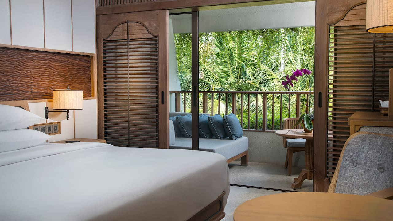 Hyatt Regency Garden View Room Accommodation for Weddings in Sanur Bali