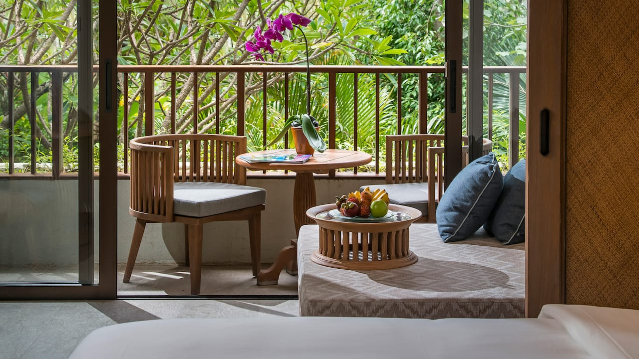 Cabana and Private Balcony King Rooms Hyatt Regency Bali