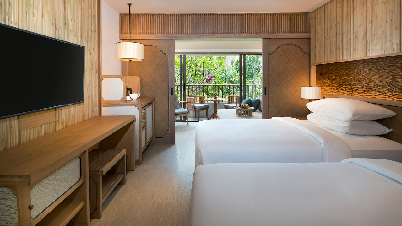 Standard Room, 2 Twin Beds Hyatt Regency Bali
