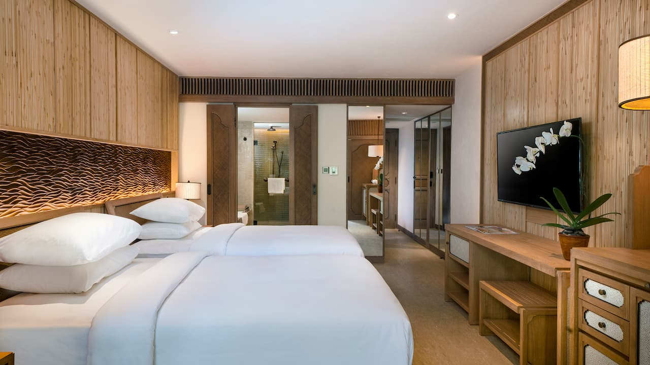 2 Twin Beds Deluxe Room Hyatt Regency Bali
