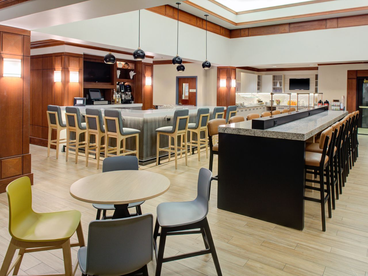 Hyatt House dining area