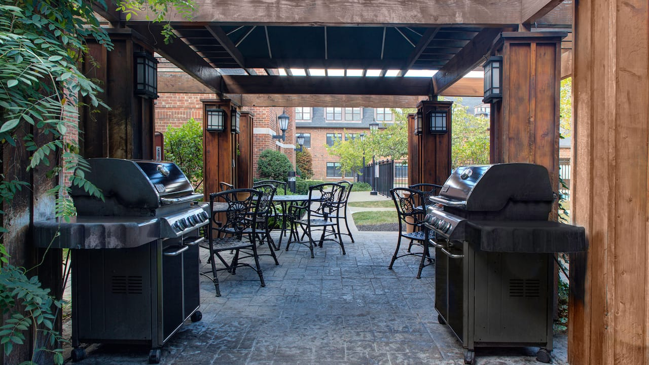 Hyatt House Patio In Parsippany, New Jersey