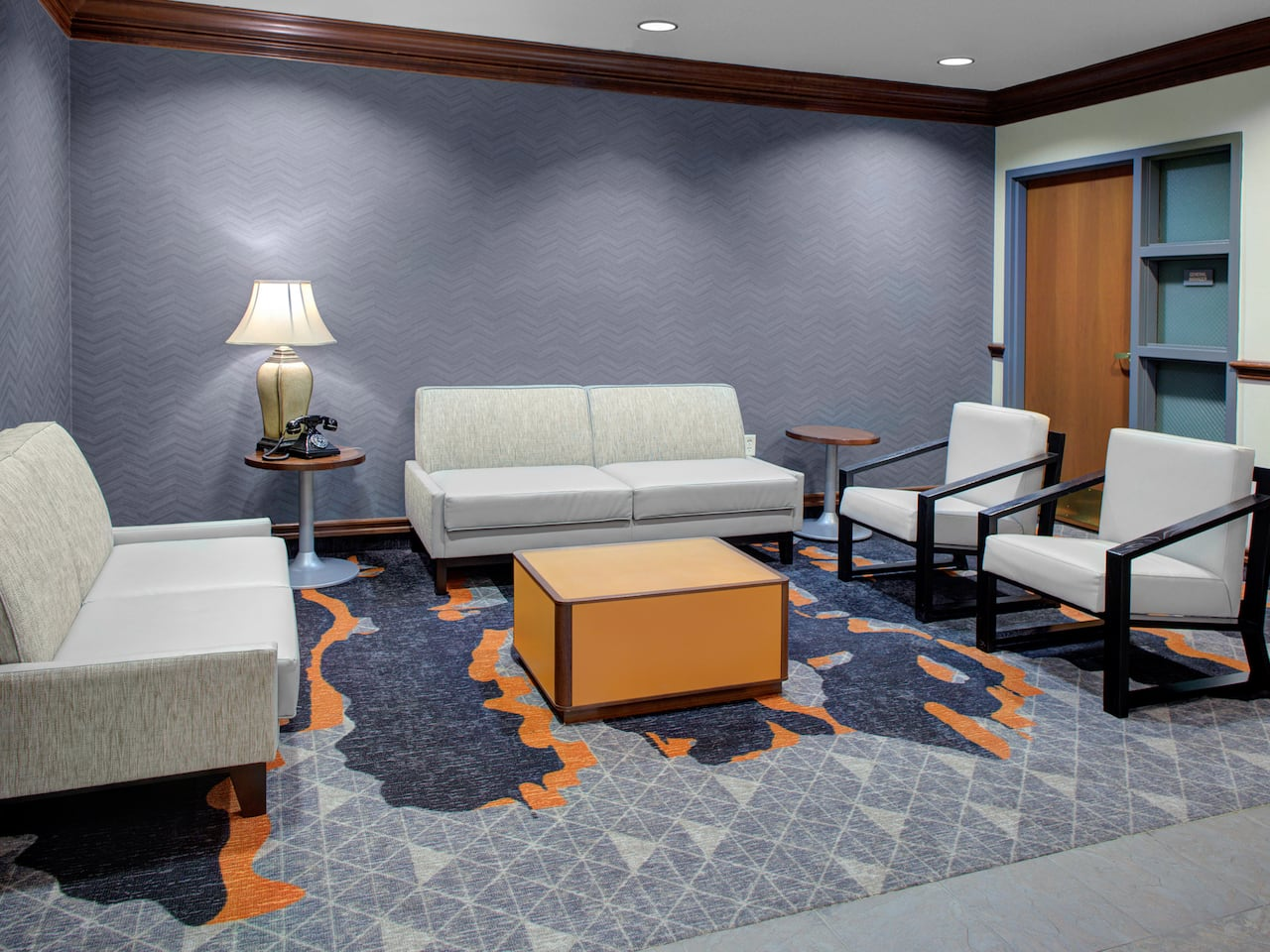 Hyatt House Lobby In Parsippany, New Jersey