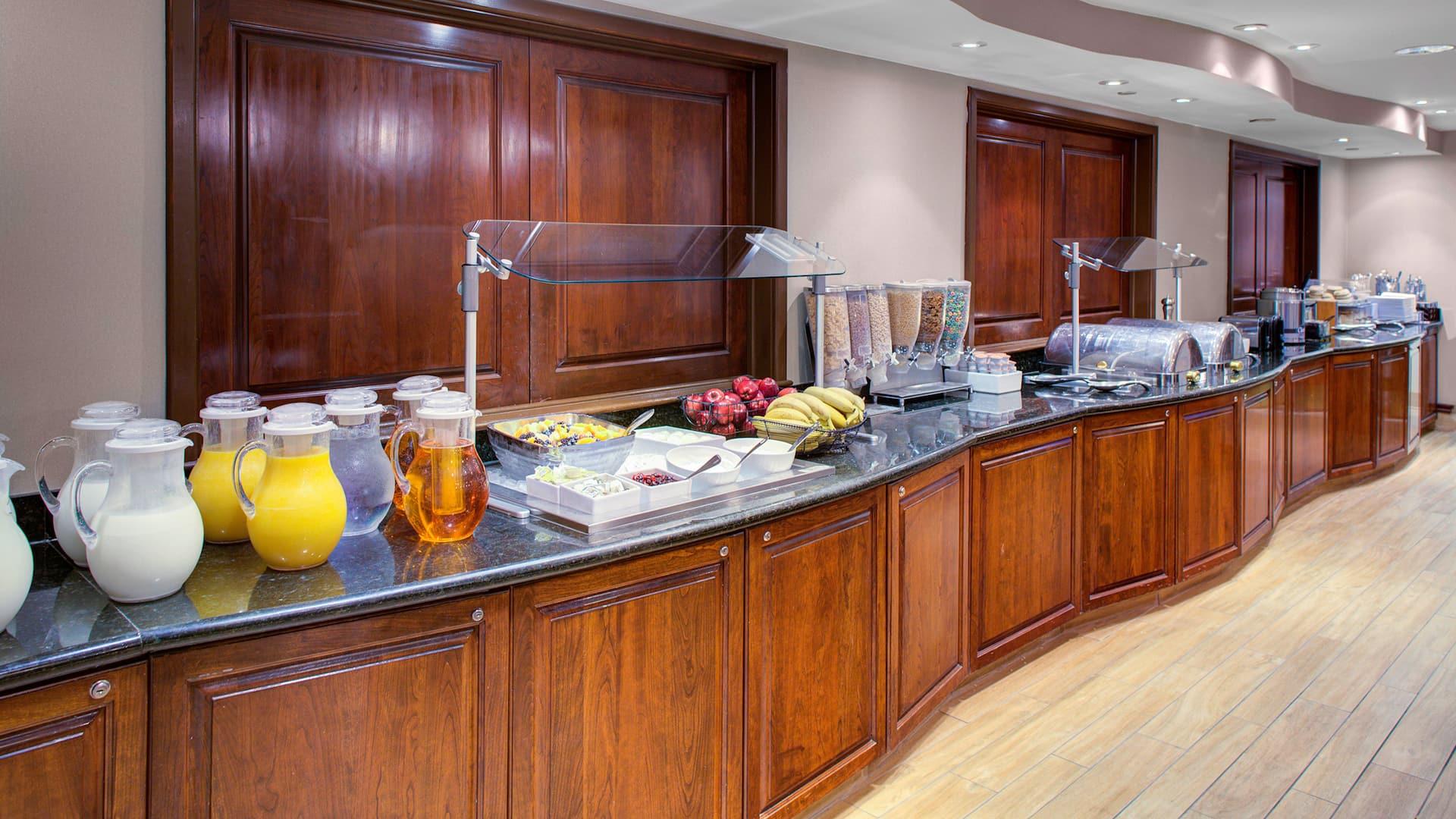 Hyatt House Breakfast Bar In Parsippany, New Jersey